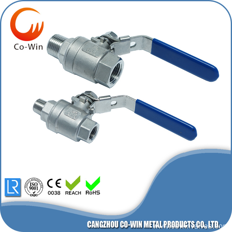 Precision Casting Female X Male Ball Valve