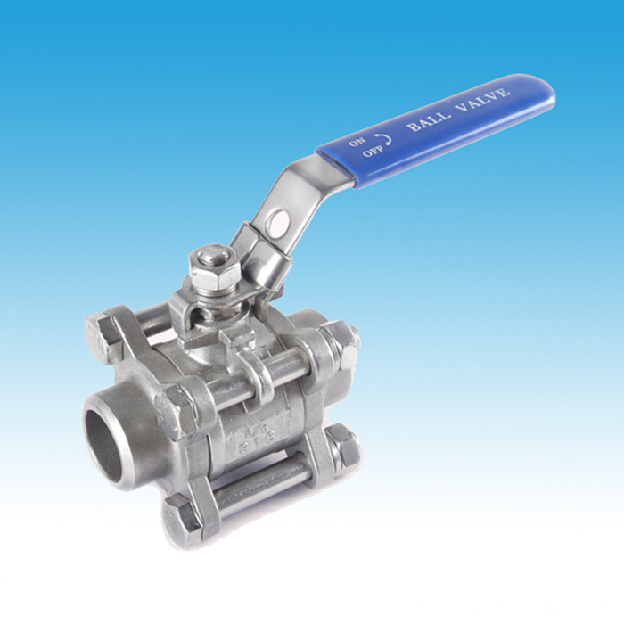 Stainless Steel The Lightest 3PC Ball Valves
