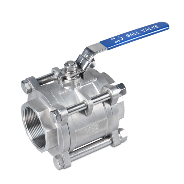Precision Casting 3PC Ball Valve