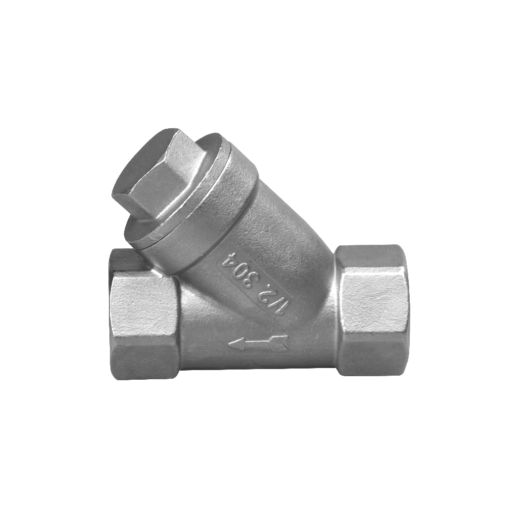 stainless steel ball valve Y strainer