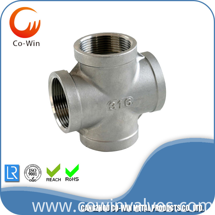 Silicon Sol Casting Cross Fittings