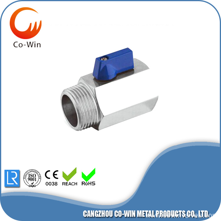 female/male thread mini ball valves 1000WOG